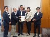 8月29日蕨市長、前川議長、保谷副議長、須賀県議・認可外の要望