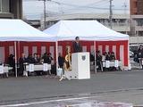 1月12日戸田市の出初式