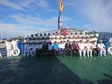 3月21日海上保安庁からの供与巡視船披露式11