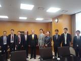 9月2日元中国人民政治商会副主席黄孟复CNCPEC名誉会長3