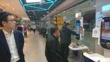 4月14日IT大手企業アリババ・運営する小売店新活館を視察6