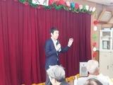10月1日南区沼影自治会の敬老会