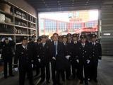 1月7日蕨市の消防出初式