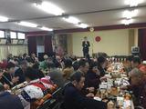 1月8日芝樋ノ爪町会の新年会