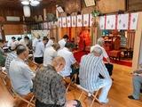7月11日桜区の栄和・中島・道場・西堀の神幸祭9
