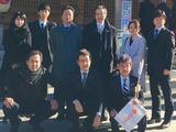 1月4日田中事務所スタッフ&Wink社員と和楽備神社の初祈願