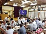 9月7日桜区宿自治協力会夜宮踊りで納涼盆踊り大会2