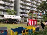 8月31日北戸田住宅自治会の夏祭り2