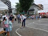 7月6日四谷2丁目ふれあい祭り・太田窪4丁目夏祭り2
