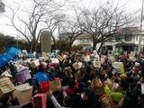 2月3日御蔵山観音節分祭・根岸・文蔵の神明社6