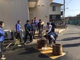 12月3日戸田市芦原町会のお餅つき