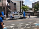 8月17日文化会館第二駐車場前、下戸田ベルクス前にて街頭演説会3