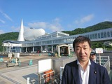 7月31日島根・隠岐諸島出張