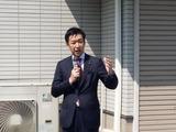 4月6日さいたま市桜区・南区・戸田市・・宣車遊説に街頭演説会