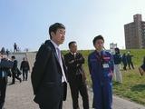 3月25日荒川彩湖公園に係る階段の完成を祝う会6