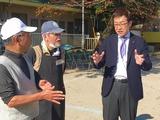 12月3日桜区北上ノ宮自治会の餅つき会2