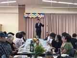 9月10日蕨市郷町会・敬老会