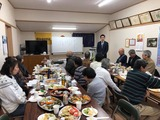 1月19日戸田市・新曽新田と鍛冶谷の町会新年会2