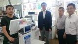 9月28日キャッシュアウトを導入したスーパーあさぬま視察2