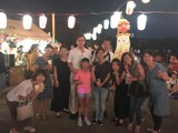 8月9日須賀町町内会の盆踊り大会2