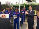 3月13日さいたま市桜区・桜田地区通学路点検9