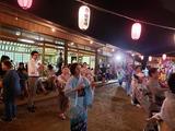 9月7日桜区宿自治協力会夜宮踊りで納涼盆踊り大会3