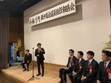 10月13日小林リキ蕨市議会議長の就任報告会2