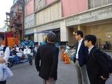 4月14日IT大手企業アリババ・運営する小売店新活館を視察3