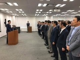 9月13日金融庁副大臣室・幹部の方々からご挨拶3