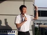 9月11日武蔵浦和東口駅頭