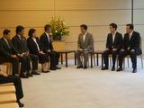7月5日安倍総理・曽我ひとみさん及び帰国が実現した拉致被害者面会2