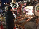 3月9日丁張稲荷・塚越稲荷神社の初午祭宵宮6