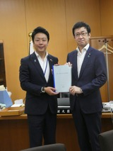 7月5日福岡市・高島市長から都市再生に関する要望