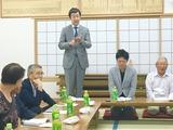 9月30日土橋勇司市議の後援会役員会