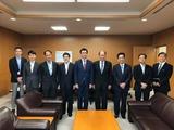 9月13日金融庁副大臣室・幹部の方々からご挨拶
