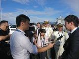 3月21日海上保安庁からの供与巡視船披露式8