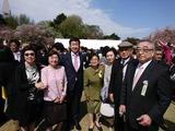4月15日新宿御苑にて安倍総理主催の桜を見る会2