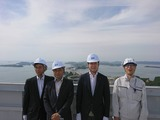 """5月15日瀬戸大橋""""及び道路関連の視察"""