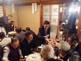 """12月2日南区鹿手袋""""一平会""""の忘年会2"""