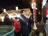 1月1日年越し神社周り