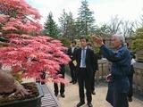 "4月13日国交省管理の""国営昭和記念公園""の視察3"