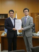 5月10日高知県・尾崎知事、地方創生に関する要望