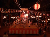8月9日南区の鹿手袋と二十三夜自治会の盆踊り大会4