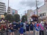7月14日戸田市沖内町会の津島神社祭礼・神輿渡御2