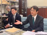 蕨市長選候補・鈴木なおし君の出馬表明記者会見