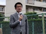 6月27日田島団地遮音壁・落書き防止対策完成披露会