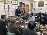 1月13日北高沼自治会から田島第一・栄和・北上の宮・門前自治会7