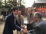 11月3日桜区西堀氷川神社の神楽殿祭2