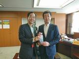 5月12日東北国道協議会の会長であります山本・宮古市長2