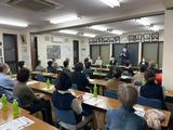 10月16日蕨市錦町にてミニ国政報告会